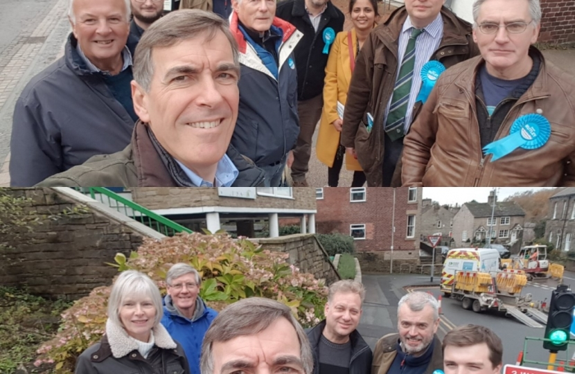 Campaigning in Poynton and Bollington